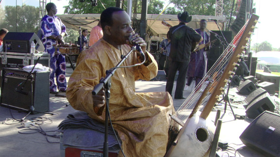 """Diabate was 21 when he recorded his first album, """"Kaira,"""" in 1986. His recording debut is regarded as the first ever solo kora album and remains a bestseller."""