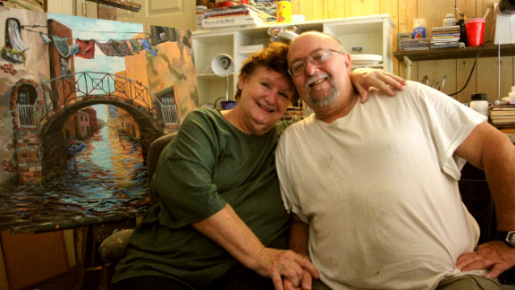 Janet and Richard Copeland say one of their few disagreements as a couple is over the Affordable Care Act.