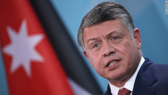 King of Jordan: Syria nearly out of time