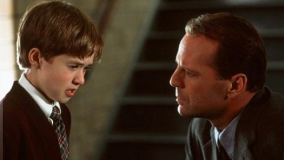 """Haley Joel Osment and Bruce Willis in """"The Sixth Sense."""""""