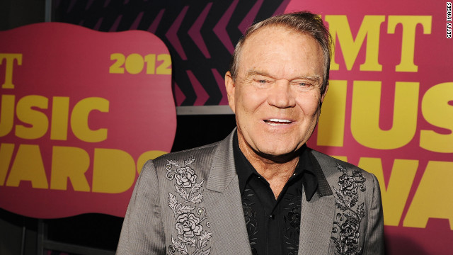NASHVILLE, TN - JUNE 06:  Glen Campbell arrives at the 2012 CMT Music awards at the Bridgestone Arena on June 6, 2012 in Nashville, Tennessee.  (Photo by Rick Diamond/Getty Images for CMT)