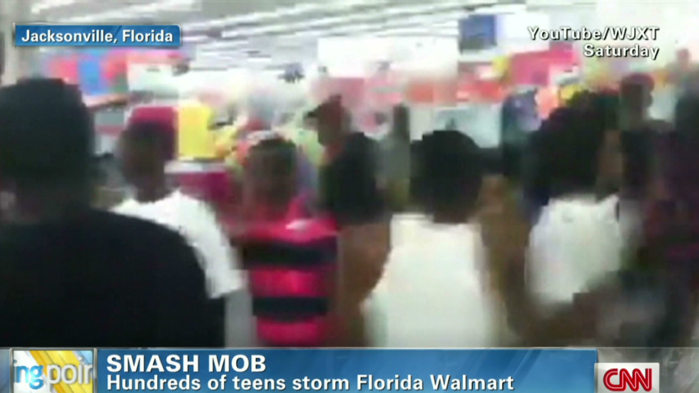 Florida teens smash Walmart - CNN Video