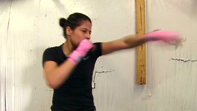 Lady boxer breaks Olympic glass ceiling
