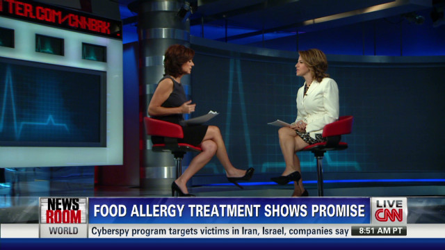 Food allergy treatment shows promise
