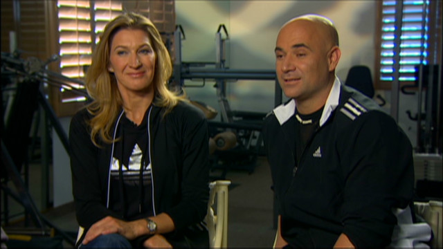 Agassi and Graf's Olympic moments