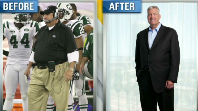 Ny Jets Ryan On His 105 Lb Weight Loss Cnn Video