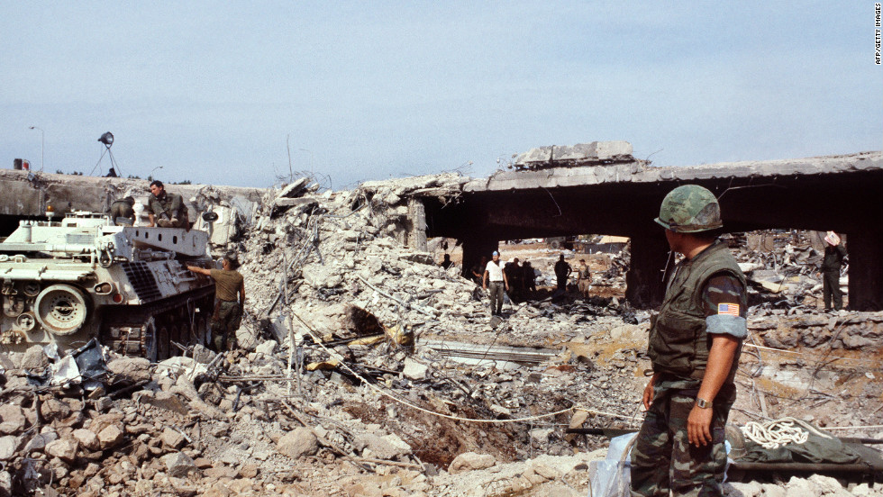 Beirut Marine Barracks Bombing Fast Facts