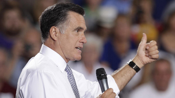 Mitt Romney hits the campaign trail this week in Bowling Green, Ohio.