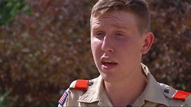 Gay teen stripped of Eagle Scout honors