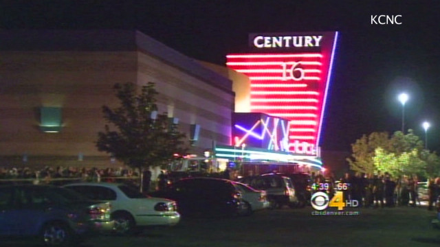 Hear theater shooting dispatch calls