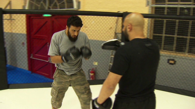 Cagefighter tackles freed terrorists