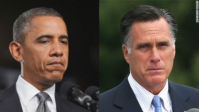 Obama Romney CO Shootings