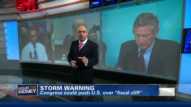 Fiscal cliff: Biggest threat to U.S. economy