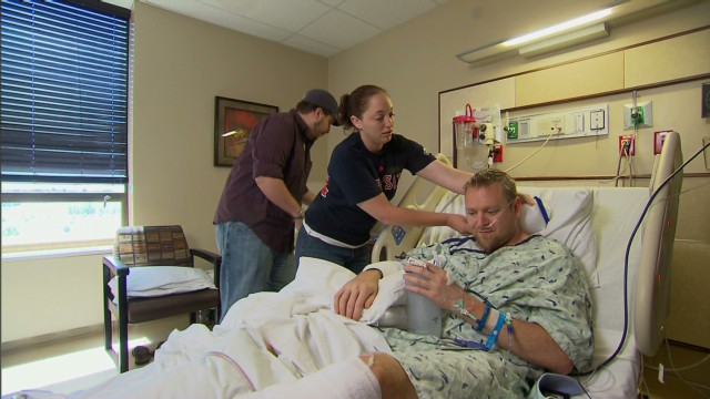 War vet saves friends from shooting