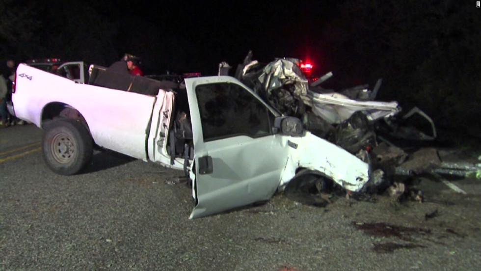 Children among dead in Texas truck crash