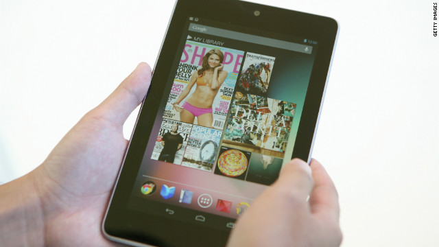 Google introduced the Nexus 7 tablet in June 2012.