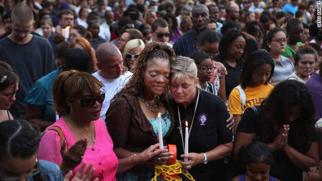 Family, friends honor shooting victims