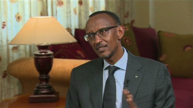Rwandan president on war crime charges