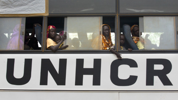 The UNHCR is still operating in South Sudan.
