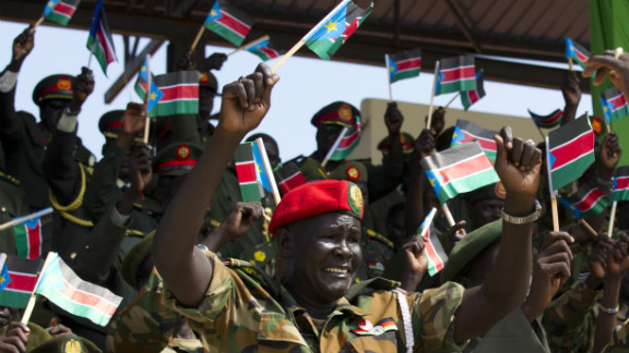 South Sudan celebrated the first anniversary of its independence in July.