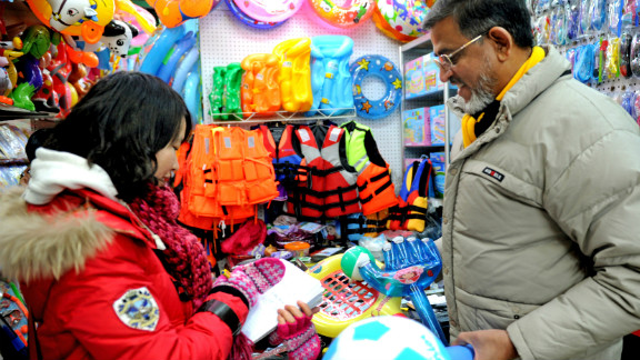 An Indian businessman at a wholesale market in Yiwu, China, where tensions flared between Indian and Chinese traders earlier this year.