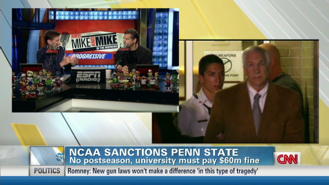 'Mike & Mike' on Penn State's sanctions