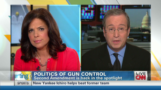 Analyst Ron Brownstein on gun control