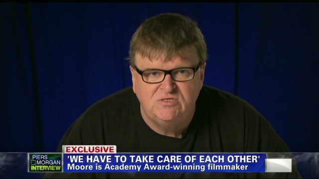 Michael Moore speaks out on gun control
