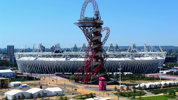The Olympic village was built from scratch in Stratford, east London, a former wasteland that was the industrial heart of the capital for years.