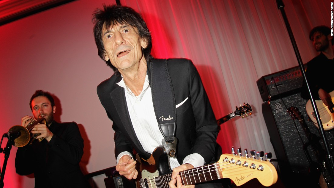 Ronnie Wood of The Rolling Stones runs Sandymount Stud -- one of Ireland's foremost horse breeding businesses. Whilst he tours (no doubt playing the Stones' classic hit, Wild Horses, on stage), his wife takes care of the equine business.