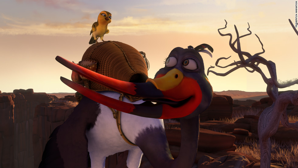 """Zambezia"" is a new South African 3D animation feature film featuring a voice cast of high-profile actors, including Samuel L. Jackson and Abigail Breslin."