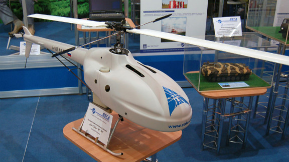 Drone model Zala-421-06 and many others are featured in Russia