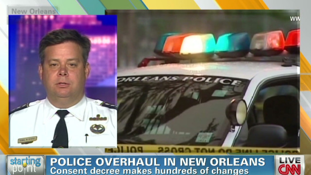 Police overhaul in New Orleans