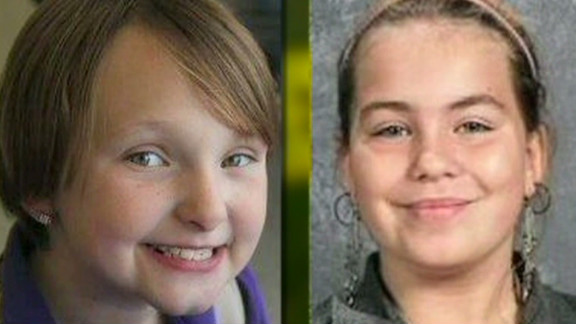 Authorities have identified the bodies of Elizabeth Collins, 8, and her cousin, Lyric Cook, 10, who