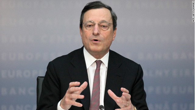 Comments from ECB President Mario Draghi have left some hopeful that the central bank will help more in the debt crisis.