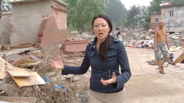 Fury in Fangshan over flood damage