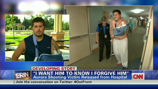 "CO shooting victim: ""I forgive him"""