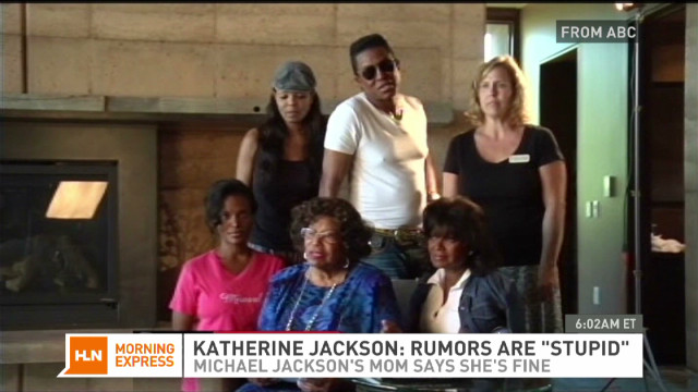 Katherine Jackson: Rumors are 'stupid'