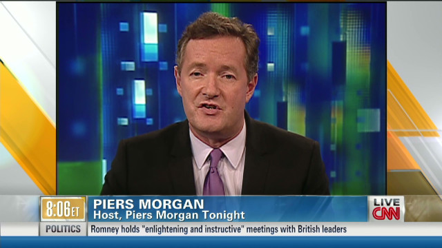 Piers debates gun control in the U.S.