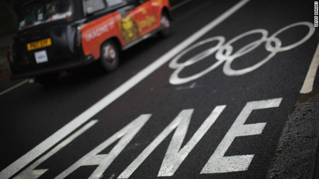 London Black Cab drivers have spoken out against the Olympic lanes.