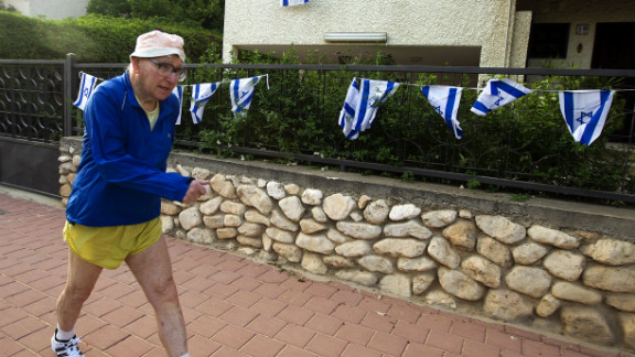 After Munich he became an academic and spent two spells in the Israeli military. At 76 years old he still walks 15 kilometers every day. He is baffled as to why the IOC refused a one-minute silence for the Israeli dead at London 2012