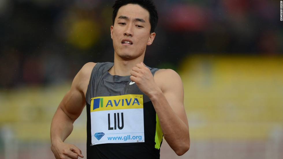 Liu Xiang will aim for his second gold medal in London's Olympic Games when he runs the 110-meter hurdles.