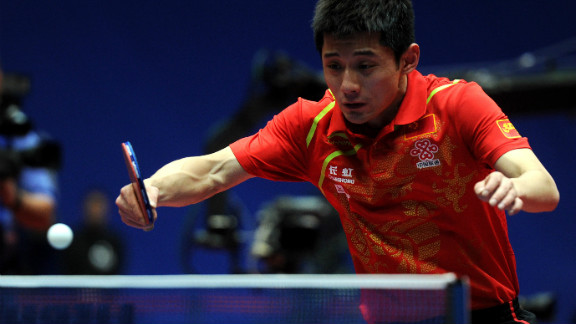 """Zhang Jike hopes to score big in China's """"national ball game"""" when he competes in table tennis."""