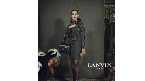 Sixty-two-year old Tziporah Salamon is an ordianry woman featured in Lanvin's fall 2012 ad campaign.