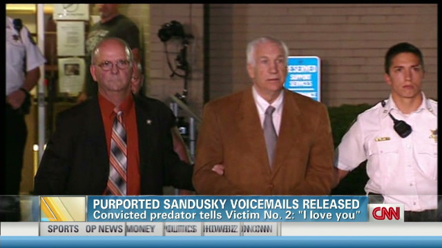 Purported Sandusky voice mails released
