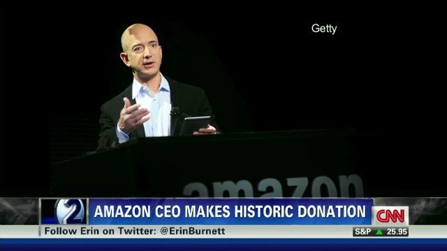 Amazon CEO's 'game changing' donation