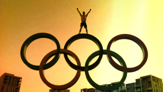 Olympic athletes light up social media