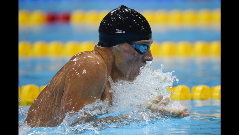 The 400-meter individual medley event Lochte won combines four types of strokes.