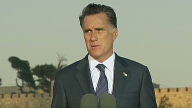 Is Romney's stance on Iran resonating?