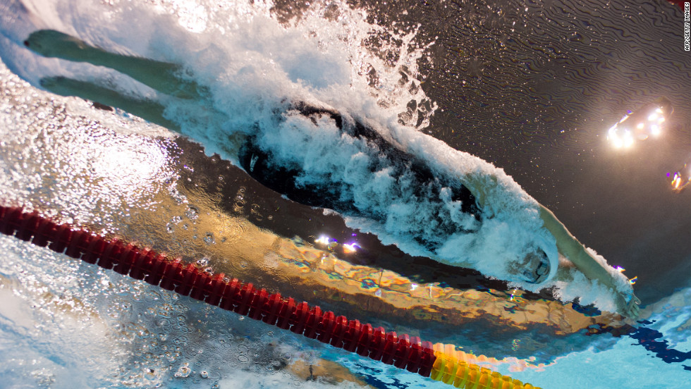 Allison Schmitt of the United States competes in the women's 200-meter freestyle heat Monday.